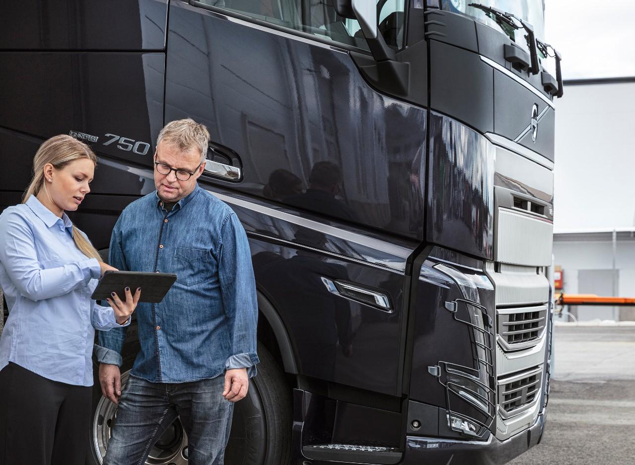 Volvo Connect – Práca s notebookom