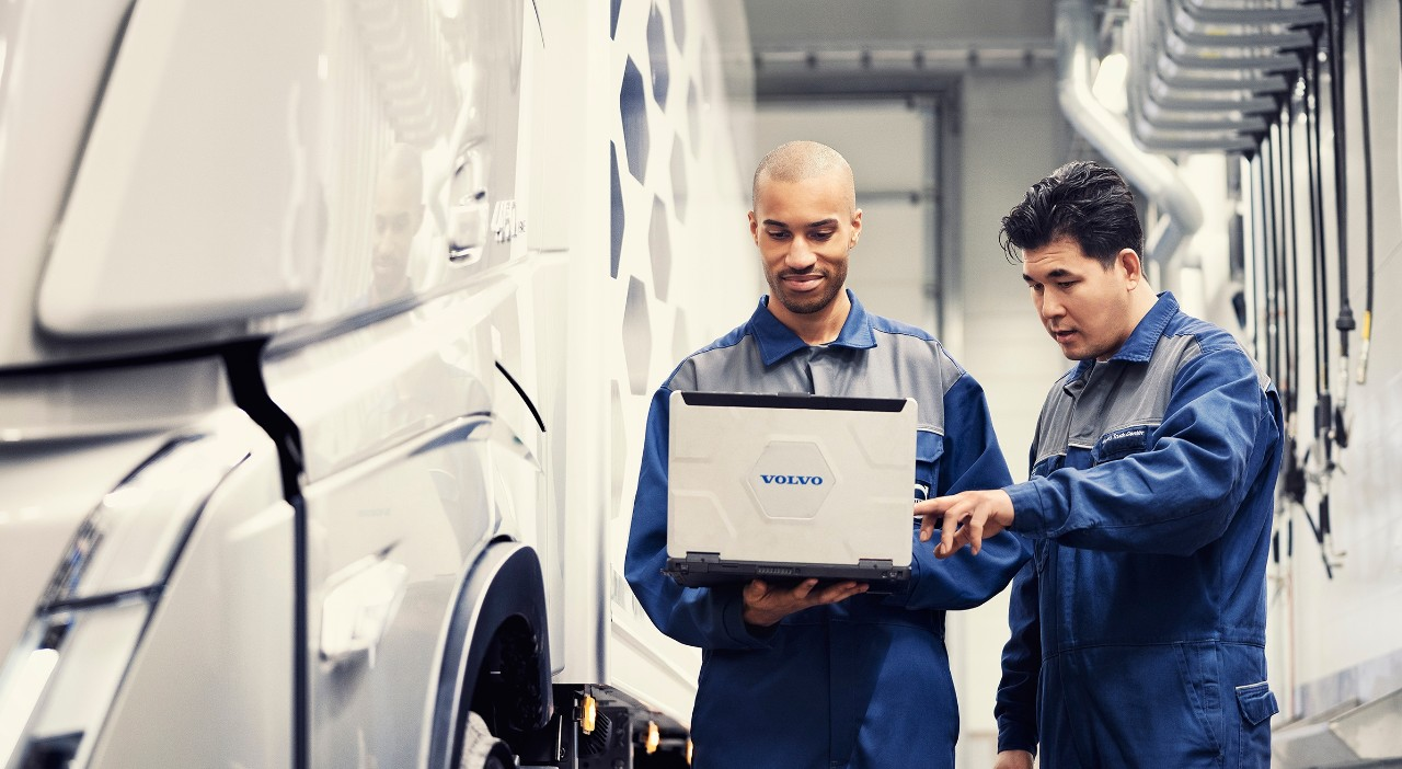 Servis Genuine Volvo Service vykonávaný s originálnymi náhradnými dielmi Volvo