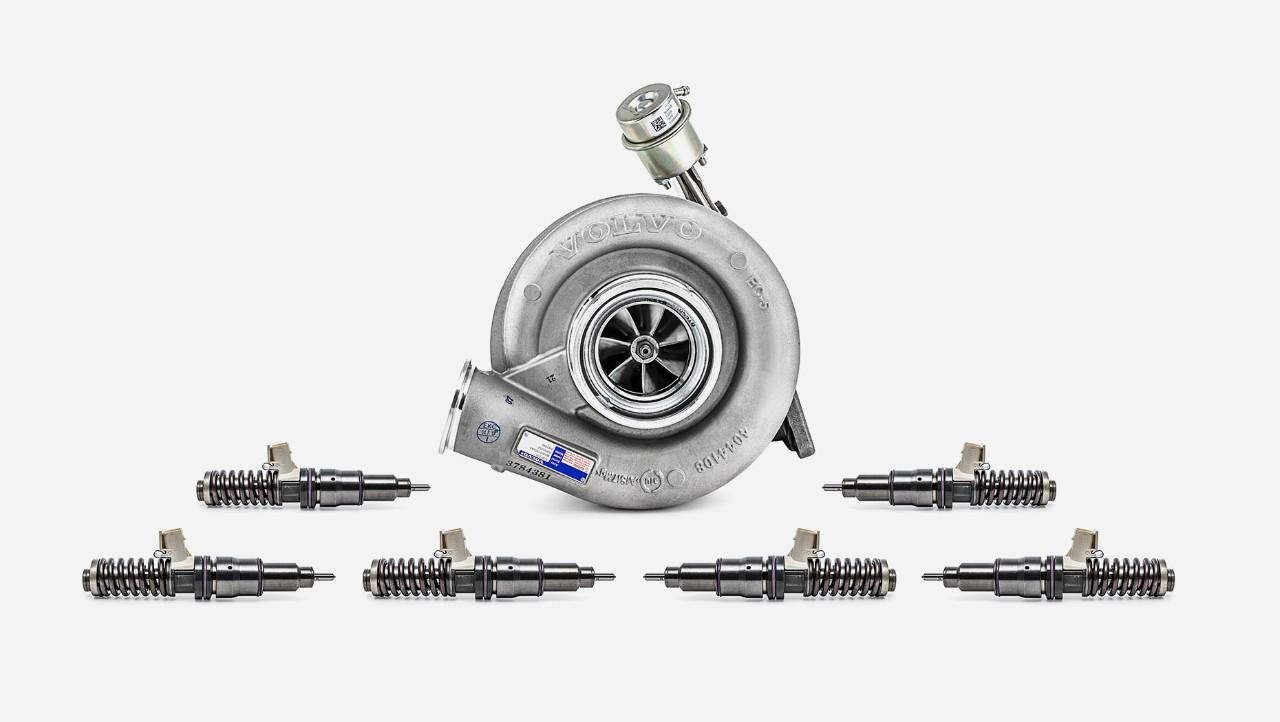 Extra súprava na generálnu opravu motora Volvo Trucks–prehľad