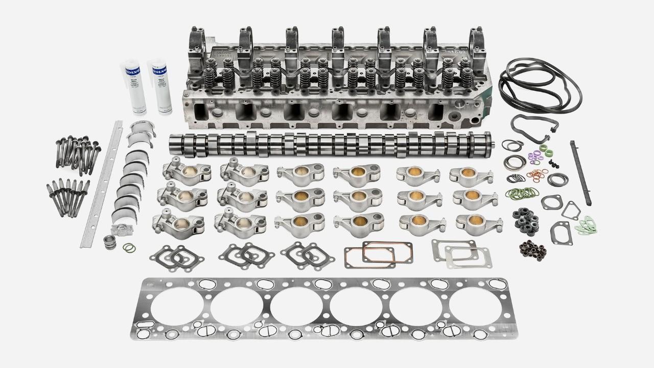 Súprava na generálnu opravu motora Volvo Trucks–horný motor