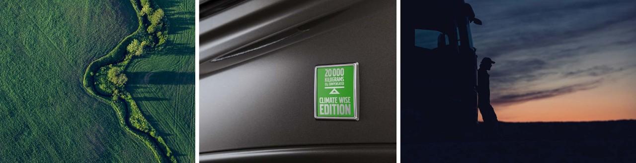 Nákladné vozidlá edície Climate Wise Edition produkujú menej emisií CO2.